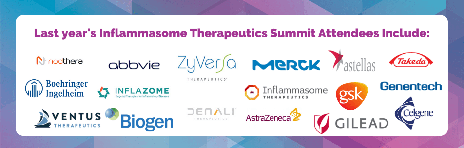 Inflammasome therapeutics summit - past attendees