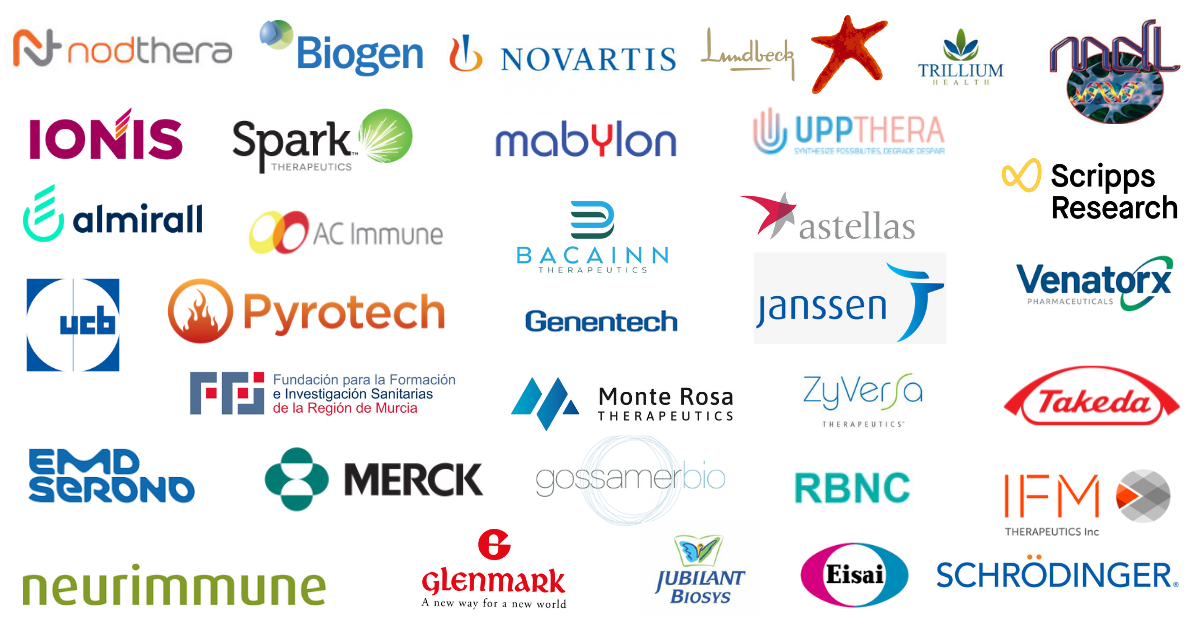 Inflammasome 2021 Companies attending